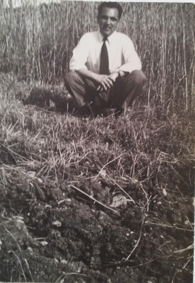 Nando, Scandriglia, 1957. Acquisizione digitale da stampa positiva alla gelatina ai sali d argento, 7 x 10,5 cm.