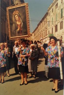Processione, Scandriglia, 1987, cm. 15x10