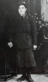 Il soldato alpino Gioventino Cardellini, classe 1921, caduto sul fronte russo, Rossosch 25 dicembre 1942