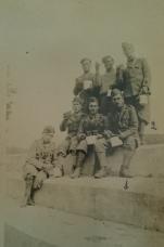 1-Ettore De Angelis e 2- Francesco Corradetti durante la Guerra di Spagna 1939