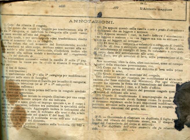 FOGLIO MATRICOLARE E CONGEDO ERCOLE ANIBALLI 003