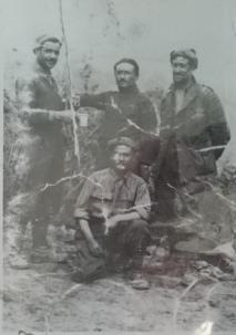 Soldati antrodocani, Nicoletti, Bentifeci, Serani, fronte greco-albanese 1941