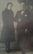 Nozze di Federico Poscente e Rosina Manzara, Antrodoco 11 aprile 1941