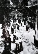 Processione della Madonna dell'Ascensione, Antrodoco 1940