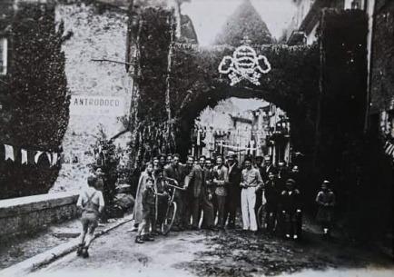 Processione della Madonna dell'Ascensione, Antrodoco 1942