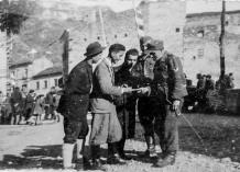 Soldati tedeschi ad Antrodoco, 194?