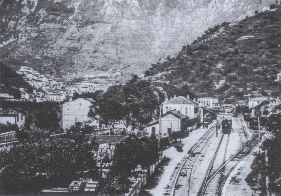Stazione ferroviaria, 1940