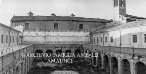 Rieti, Chiostro della Chiesa di San Francesco