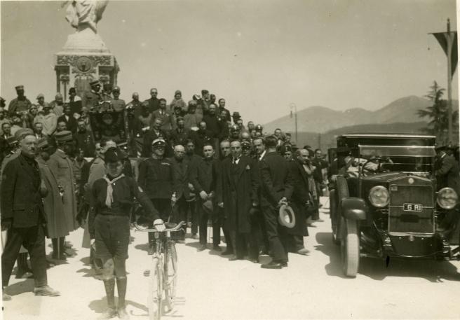 Inaugurazione Monumento ai Caduti, Rieti, 13 giugno 1926