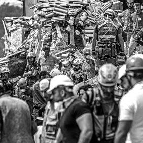 Amatrice, 24-08-2016. il terremoto ha devastato il centro di Amatrice.