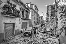 Amatrice (Rieti), August 24th, 2016 – The quake devastated the city's downtown. ---- A magnitude 6.2 earthquake has struck central Italy, leaving at least 63 people dead and 150 missing. >< Amatrice (Rieti), 24 agosto 2016 – ll terremoto ha devastato il centro della città. ---- Un terremoto di magnitude 6.2 ha colpito l'Italia centrale causando la morte di almeno 63 persone e circa 150 dispersi.