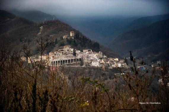 Arquata del Tronto (Ascoli Piceno, Marche - Italy), 5th December 2016