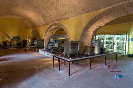 Interno del museo NBC Caserma Verdirosi - Rieti