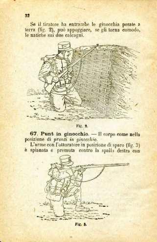 17. Istruzione sulle armi e sul tiro per la fanteria, 1909 [Archivio privato Egisto Fiori]