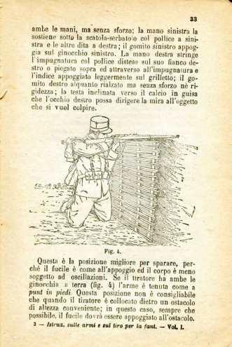 18. Istruzione sulle armi e sul tiro per la fanteria, 1909 [Archivio privato Egisto Fiori]