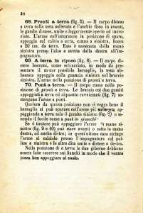 20. Istruzione sulle armi e sul tiro per la fanteria, 1909 [Archivio privato Egisto Fiori]