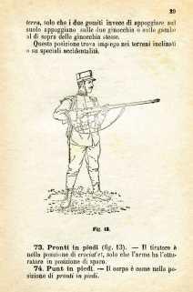 24. Istruzione sulle armi e sul tiro per la fanteria, 1909 [Archivio privato Egisto Fiori]