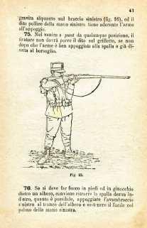 26. Istruzione sulle armi e sul tiro per la fanteria, 1909 [Archivio privato Egisto Fiori]