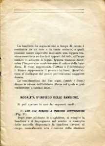 34. Istruzione sulle segnalazioni con bandiere a lampo di colore, 1916 [Archivio privato Egisto Fiori]