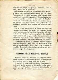 39. Istruzione sulle segnalazioni con bandiere a lampo di colore, 1916 [Archivio privato Egisto Fiori]