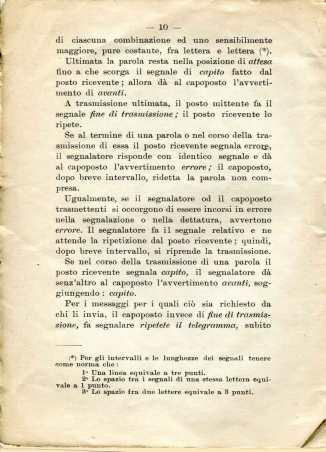 41. Istruzione sulle segnalazioni con bandiere a lampo di colore, 1916 [Archivio privato Egisto Fiori]