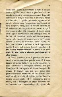 7. Norme per l'esecuzione del tiro di fucileria contro aeroplani e dirigibili, 1915 [Archivio privato Egisto Fiori]