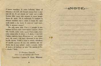 CARTOLINA RICORDO CASA DEL SOLDATO CON CROCE ROSSA AMERICANA