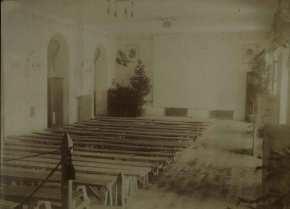 INTERNO CASA DEL SOLDATO, LA SALA TEATRO [©archivio Famiglia dei Discepoli ONPMI Fondo Padre Minozzi]