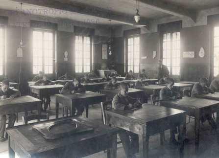 UNA CLASSE ORFANOTROFIO MASCHILE AMATRICE