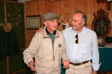 Fernando Felli con Nicola Arigliano
