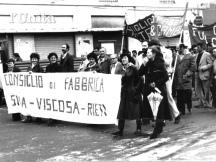 Archivio de l'Unità, Rieti, Manifestazioni sindacali, Anni '70