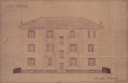 Archivio di Stato di Rieti, ACR, b. 0478 - Camporeatino, Casa Operaia, 1936
