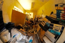 Archivio di Stato di Rieti, Archivio della Snia di Rieti in stato di abbandono, aprile 2015