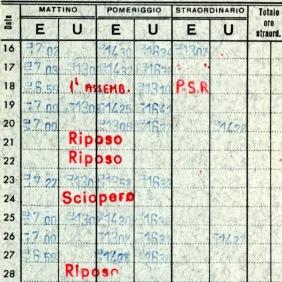 Archivio privato di Gabriella Rinaldi, Cartellino, febbraio 1976