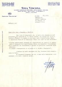 Archivio privato di Gabriella Rinaldi, Lettera Premi alle idee, Rieti, 28 febbraio