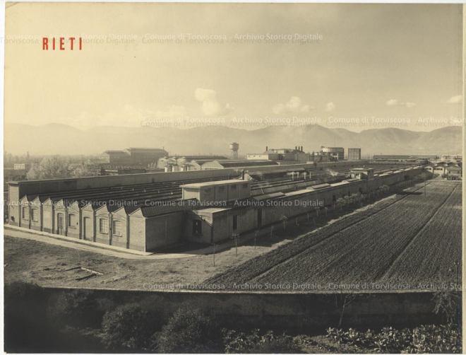 CID, Centro Informazione Documentazione Torviscosa, Archivio storico Snia Viscosa, Veduta aerea della Cisa Viscosa di Rieti, circa 1941