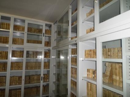 Archivio Storico Comunale di Casperia, Biblioteca Claustrale