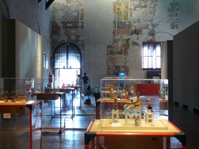 Mostra del Modern Automata Museum, Festival della Letteratura, Mantova, 2008