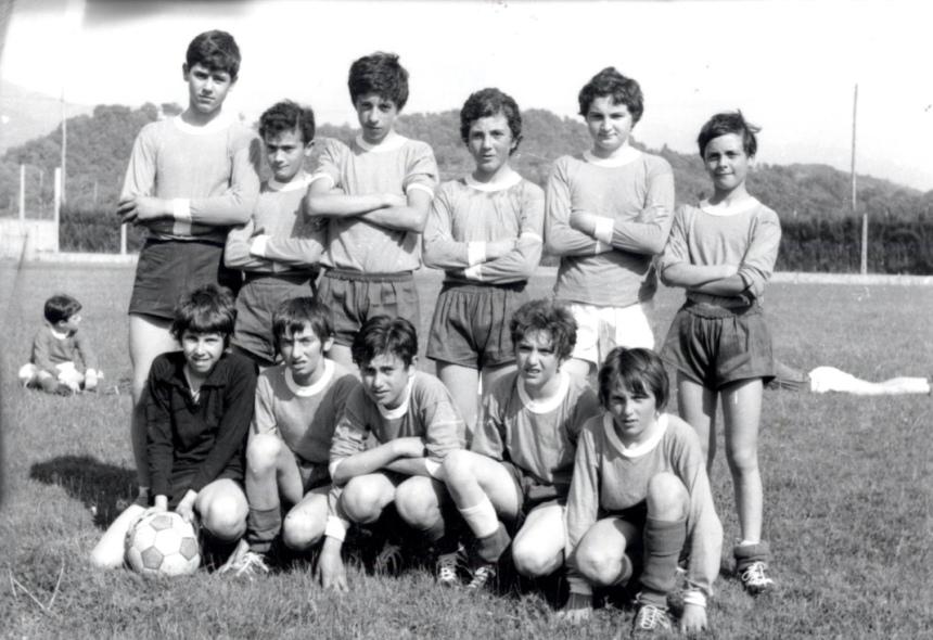 Archivio di Stato di Rieti, Squadra di calcio ragazzi, 1974