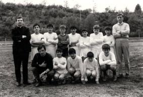 Archivio di Stato di Rieti, Squadra di calcio ragazzi CISA, 1968
