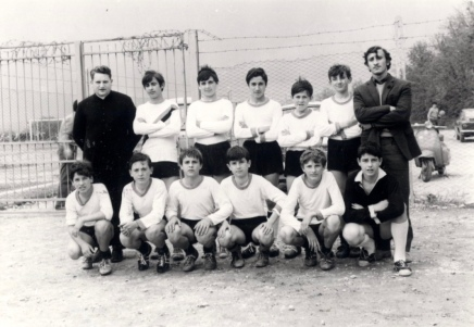 Archivio di Stato di Rieti, Squadra di calcio ragazzi Stimmatini, 1968