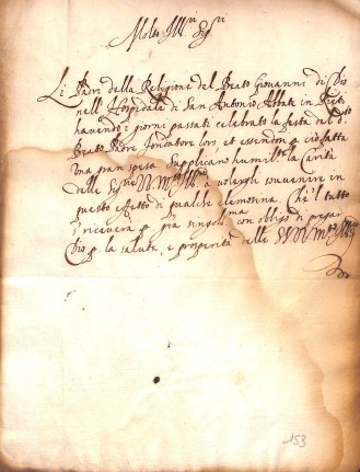 Archivio di Stato di Rieti, doc. 1