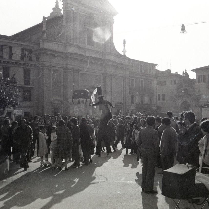 Archivio privato Roberto Lorenzetti, Poggio Mirteto, Carnevale Liberato, 1981