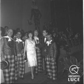 Archivio Storico Luce, Fondo Vedo, FV00117215, Rieti, Carnevale, 12 febbraio 1961