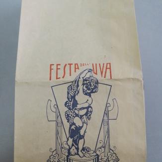 Archivio di Stato di Rieti, Archivio comunale di Rieti, Carteggio amministrativo, Rieti, Festa dell'uva, Esempio di busta, Anni '30