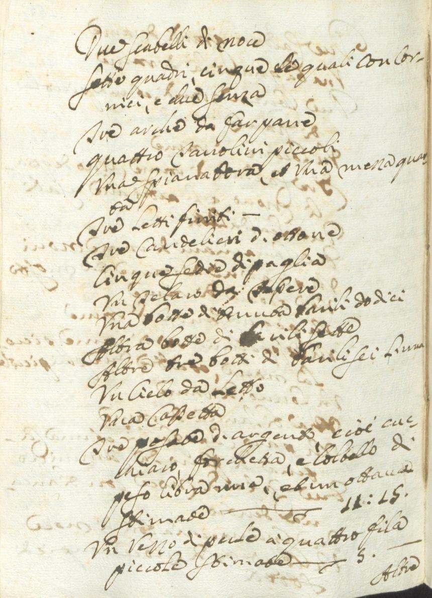 Archivio di Stato di Rieti, Archivio notarile distrettuale Rieti, Not. Domenico Schiara Catenacci, vol. 2655, cc. 154-155.