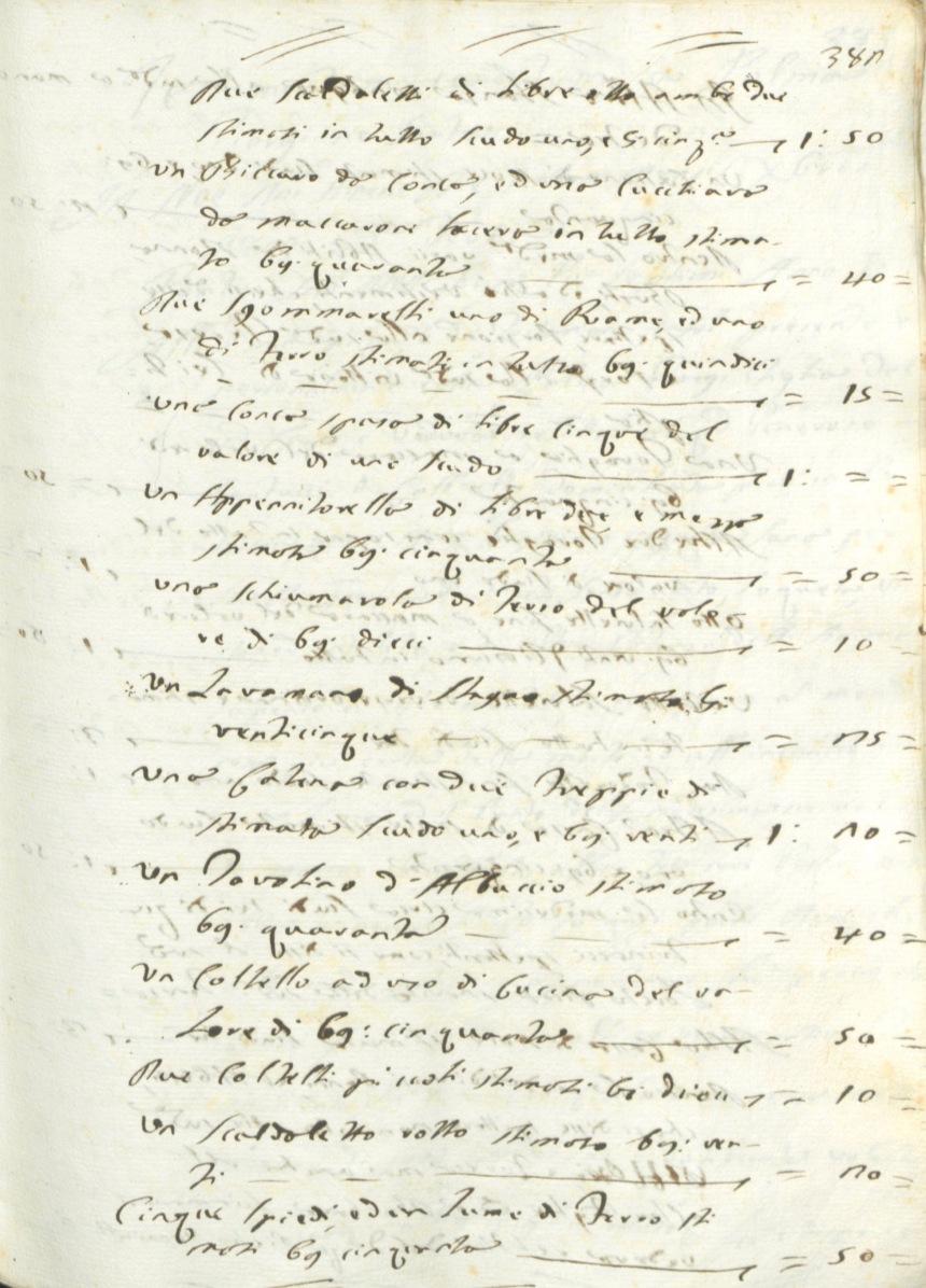 Archivio di Stato di Rieti, Archivio notarile distrettuale Rieti, Not. G. Lorenzoni, vol. 3047, c. 380.