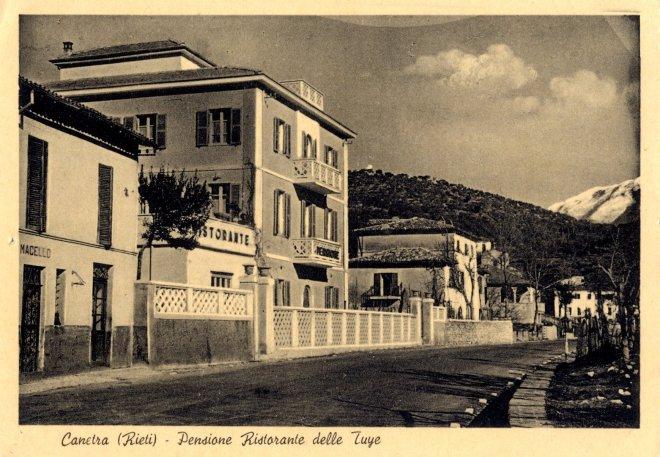 Archivio di Stato di Rieti, Fondo EPT, Canetra, Pensione delle Tuye