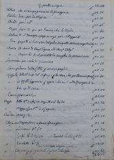 Archivio Storico Diocesano di Rieti, Archivio vescovile di Rieti, Confraternite, b. Pia adunanza della beata Colomba, Spese occorse per la festa della beata Colomba anni 1859.